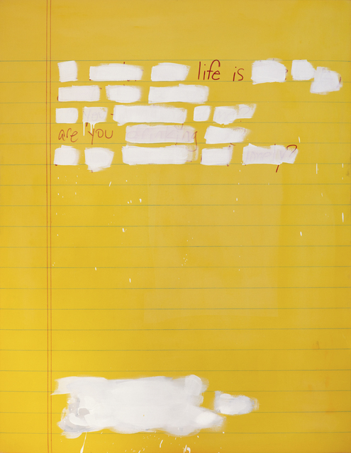 Scott Avett, 'Journal Page #2', 2018, Hexton Gallery