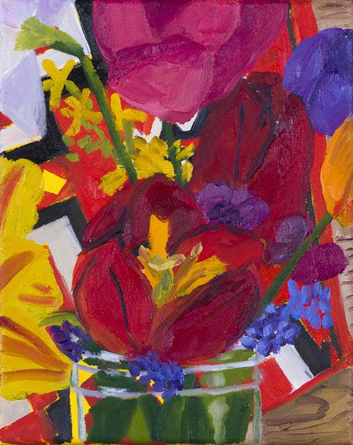 , 'Garden Flowers,' 2017, Hashimoto Contemporary