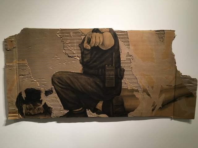 , 'Criminalized V,' 2016, Long Gallery Harlem