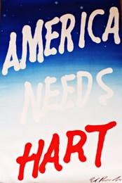 America Needs Hart (Signed)