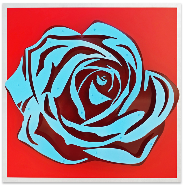 , 'Rose - Blue on Red,' , FP Contemporary