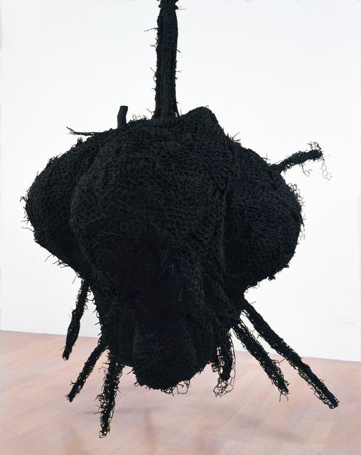 , 'Untitled #670 (Black Heart),' 1990, Galerie Lelong & Co.