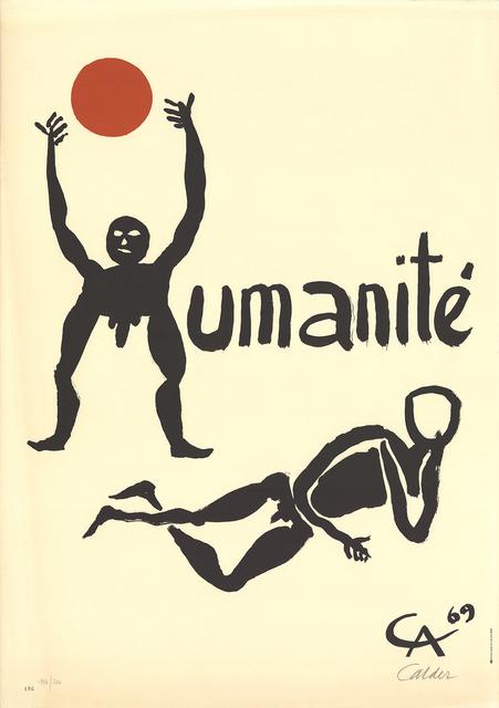 Alexander Calder, 'Humanite', 1968, ArtWise