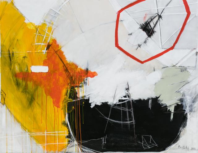 Kelton Osborn, 'Fire Burns', 2019, Painting, Mixed media on canvas, Michael Warren Contemporary