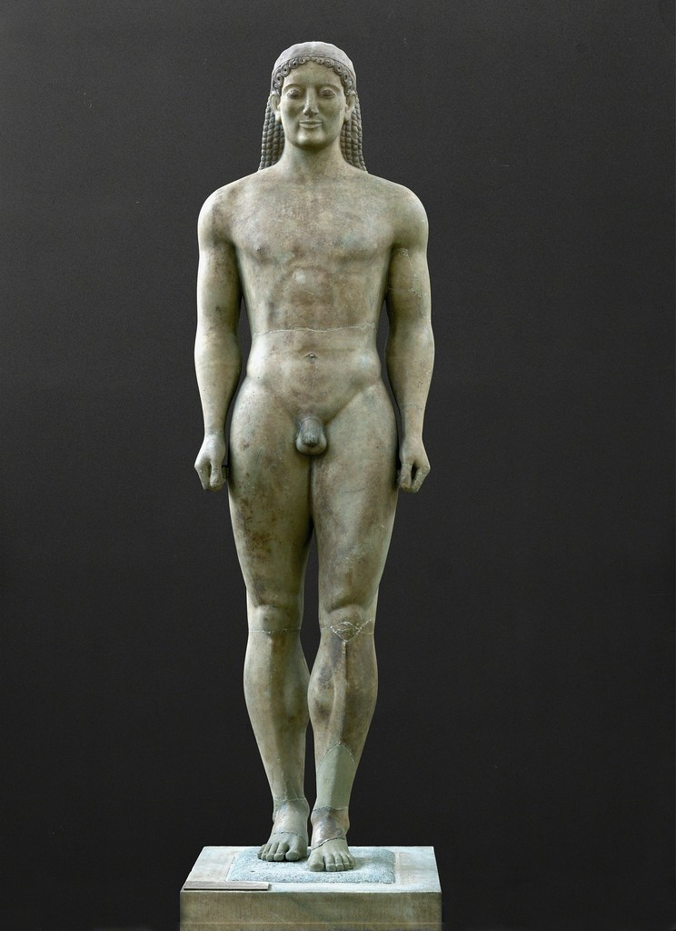 Statue Of A Kouros 6Th Century Bc  Artsy-4935