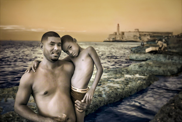 E.K. Waller, 'Father Son Beach', 2013, The Perfect Exposure Gallery