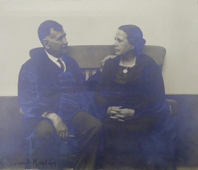 , 'Retrato de los Señores Marín,' ca. 1925, Galería Windsor