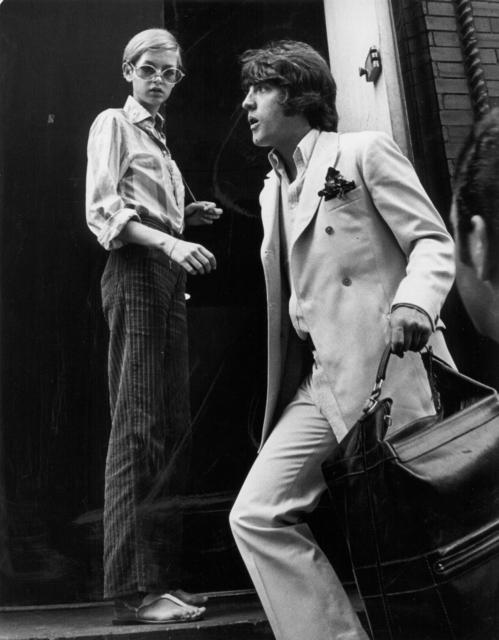 , 'Twiggy with Justin de Villeneuve at Bert Stern's studio, New York,' 1967, Staley-Wise Gallery