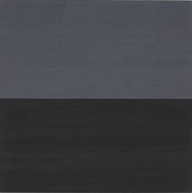 , 'Carbon Gunmetal / Divide,' 2012-2014, White Cube