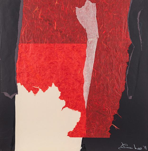 , 'Red Escarpment,' 2011, Rosenberg & Co.