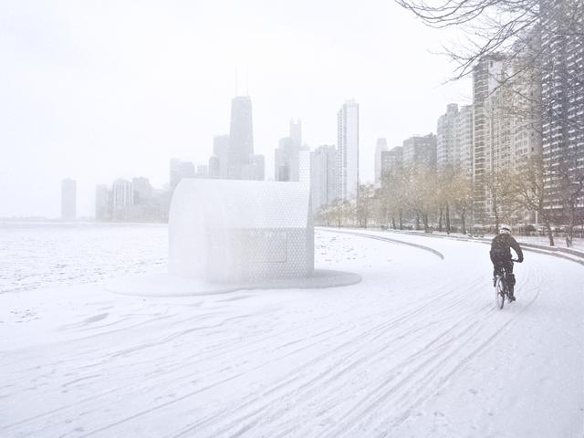 , 'Untitled,' 2015, Chicago Architecture Biennial