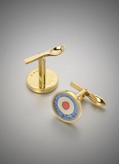 , 'Red Target, Cufflinks ,' 2008, Louisa Guinness Gallery