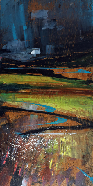 , 'Mahogany Moor IV,' ca. 2017, Thackeray Gallery
