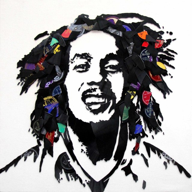 , 'Bob Marley,' 2017, Contessa Gallery