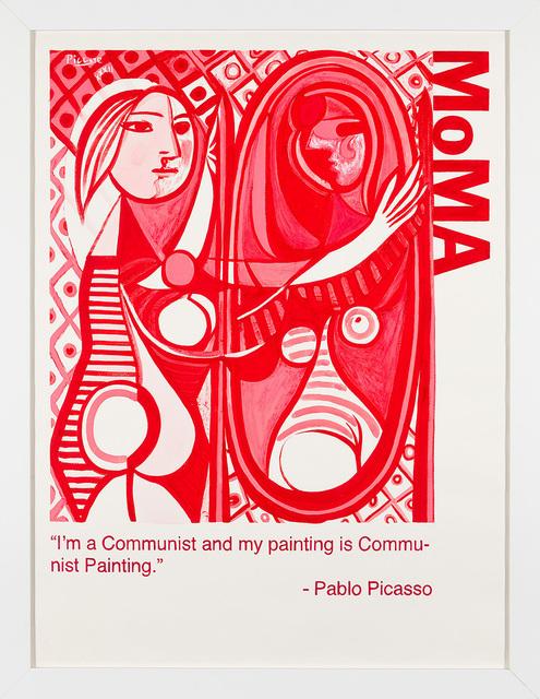 Yevgeniy Fiks, 'Communist Tour of MoMA (Pablo Picasso)', 2010, Winkleman Gallery