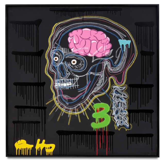 , 'What's A Skull Without A Brain,' 2016, De Re Gallery