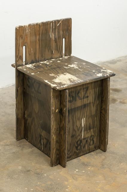 , 'SKZ Student Chair Number 878,' 2016, PRAZ-DELAVALLADE