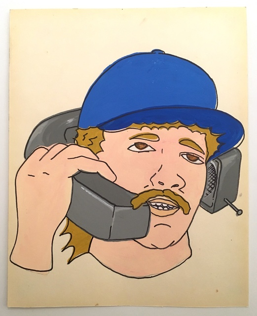 , 'Mustache Phone,' 2019, Deep Space Gallery