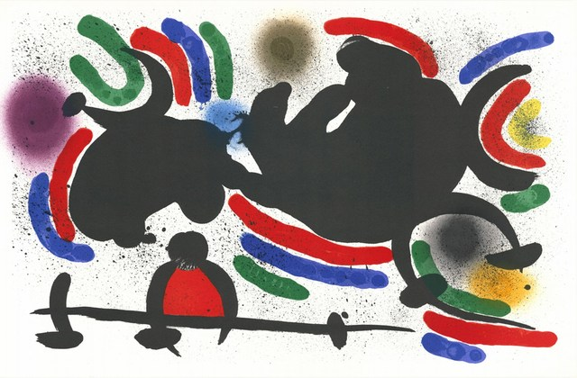 Joan Miró, 'Litografia Originale IV', 1972, Cerbera Gallery