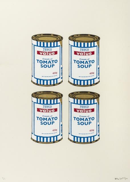 Banksy, 'Soup Cans Quad (Cream Paper)', 2006, Forum Auctions