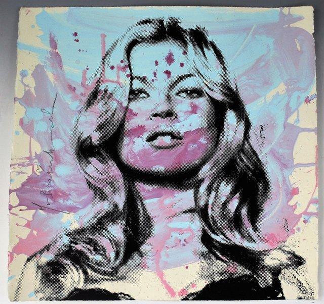 Mr. Brainwash, 'Kate Moss', 2010, Puccio Fine Art