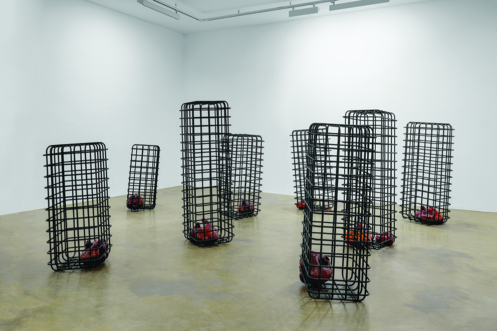 "Mona Hatoum, ""Cellules,"" 2012-2013. Centre Pompidou. © Courtesy of the artist and Galerie Chantal Crousel, Paris © Photo : Florian Kleinefenn"