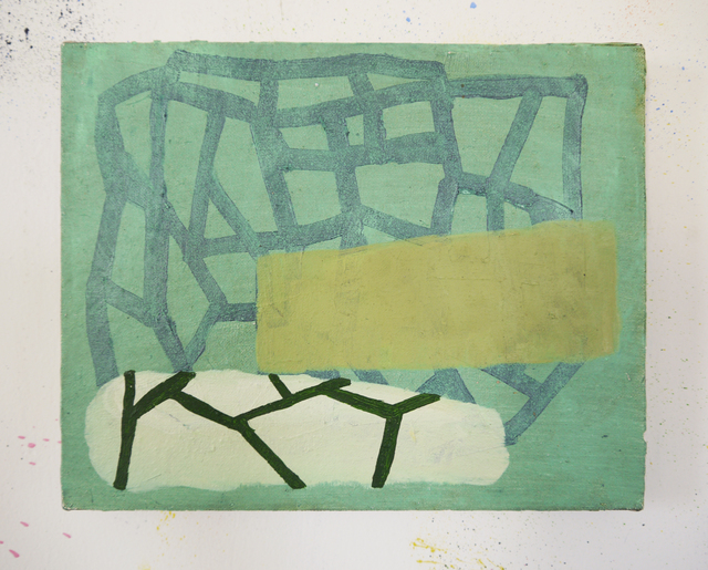 Becky Yazdan, 'Wicker Heart', 2016, Painting, Oil on linen, FRED.GIAMPIETRO Gallery