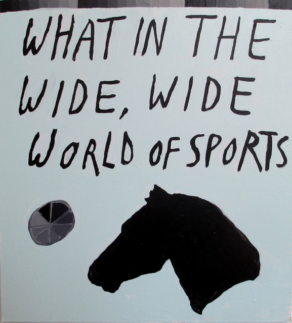 , 'What in the Wide, Wide World of Sports,' 2015, Christopher Stout + Will Hutnick