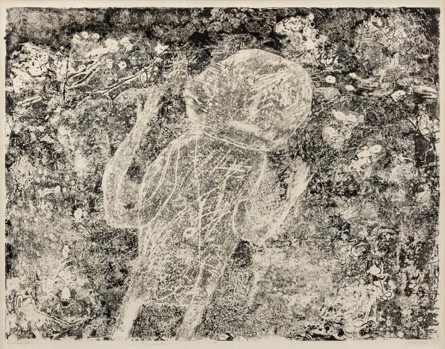 Jean Dubuffet, 'Le Braconnier', 1953, Hindman