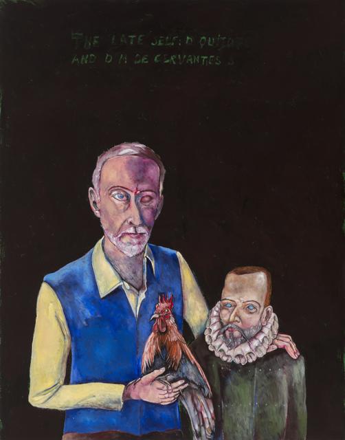 , 'The late self: Don Quixote y M de Cervantes Saavedra,' 2014, Stevenson