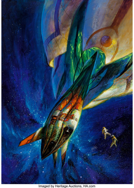 Bob Eggleton, 'Isaac Asimov's Science Fiction cover, July 1998', Heritage Auctions