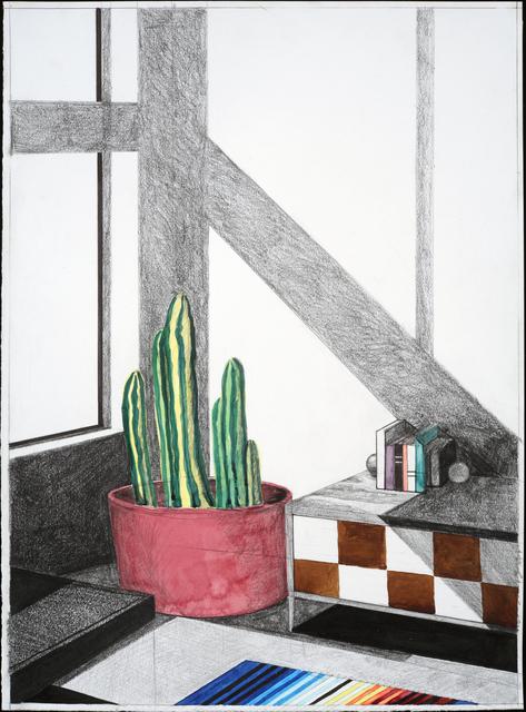 , 'Get the Throw,' 2018, Eleanor Harwood Gallery