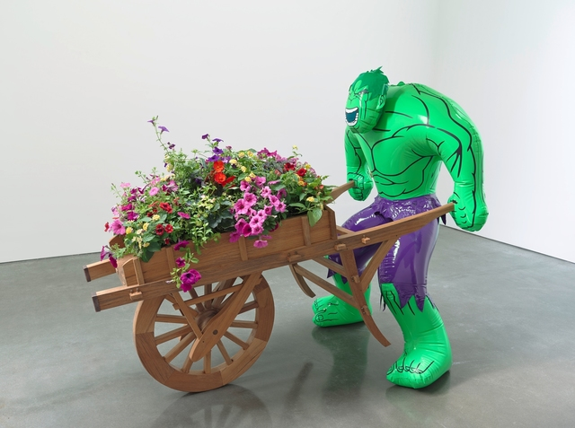 Jeff Koons, 'Hulk (Wheelbarrow)', 2004-2013, Gagosian