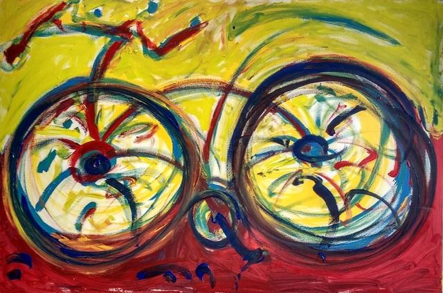 , 'Bike Blue,' , Inn Gallery