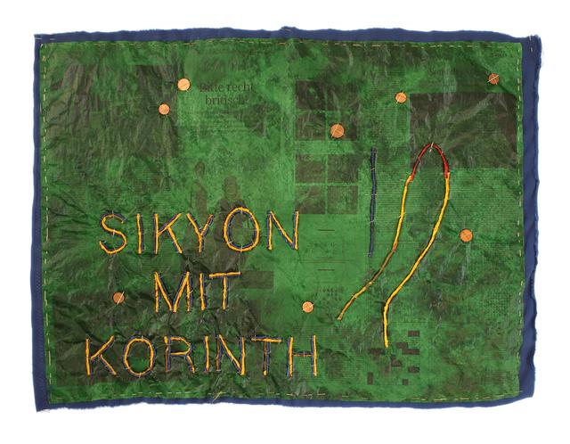 , 'Sikyon mit Korinth - Landschaften Griechenlands,' 2014, Barbara Gross