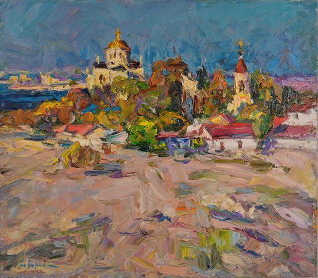 Anatoly Egorovich Zorko, 'Oil painting, original landscape painting', 2012, Art-Impression