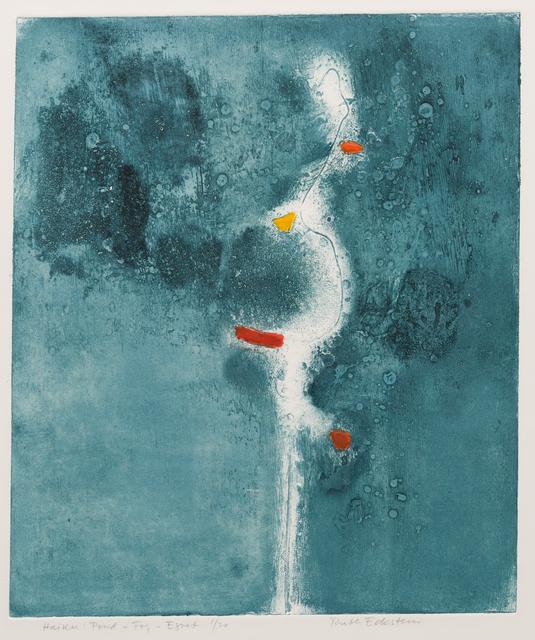 , 'Haiku : Pond - Fog - Egret,' 1973, Childs Gallery