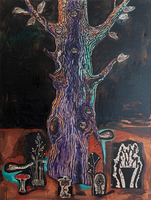 Damien Deroubaix, 'Baum III', 2019, Nosbaum & Reding