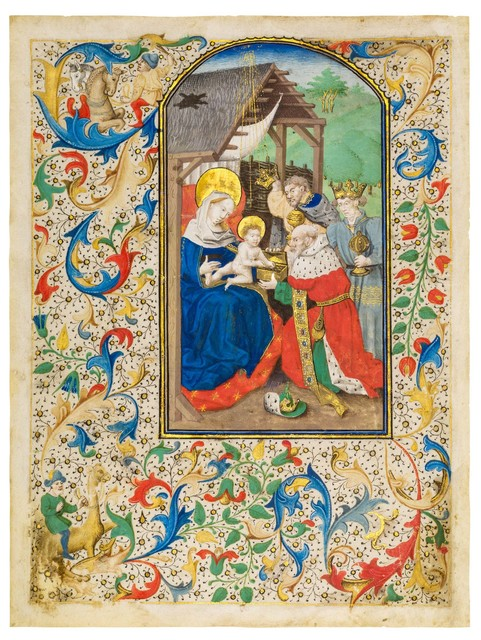 , 'Adoration of the Magi,' ca. 1440, Dr. Jörn Günther Rare Books