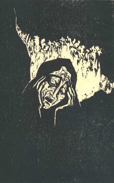 Jakob Steinhardt, 'Rachel Weeping for her Children', 1962, Childs Gallery