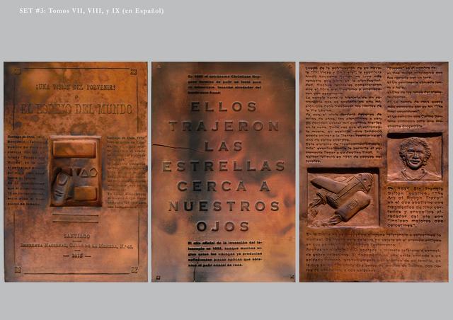 , 'Burnt Encyclopedia (Enciclopedia quemada),' ca. 2016-2017, Parque Galería