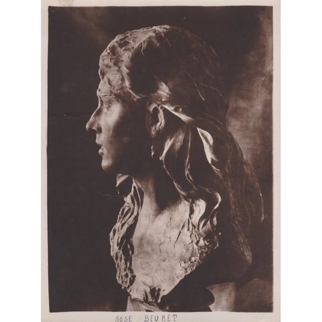 Auguste Rodin, 'Rose Beuret', ca. 1915, Grob Gallery