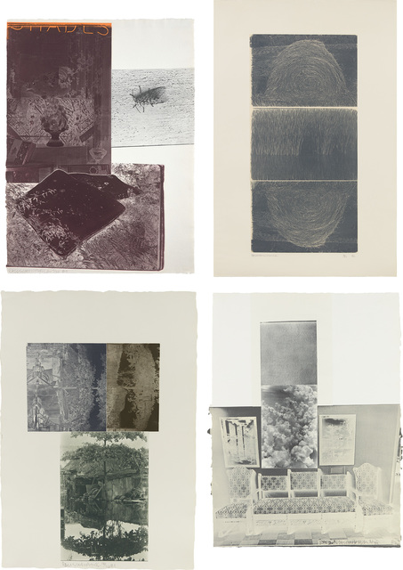 Robert Rauschenberg, 'Etching I; Etching II; Etching III; and Etching VI, from The Razorback Bunch', 1980-83, Phillips