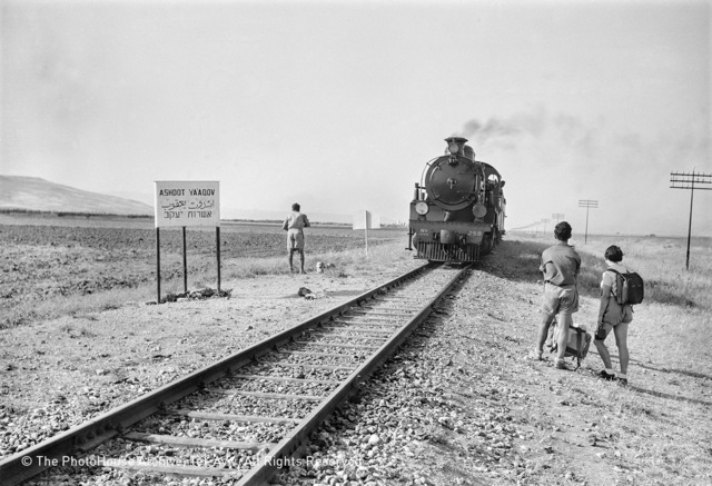 , 'Valley train, Ashdot Yaakov,' 1939, °CLAIR Galerie