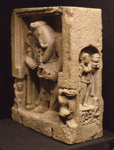 , 'Ganesha,' 8th century-10th century, Newark Museum