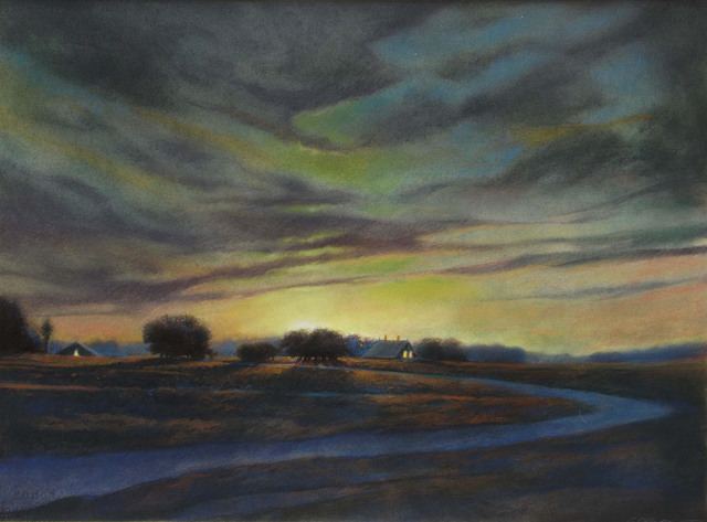, 'Viridian Moonrise,' 2015, Somerville Manning Gallery