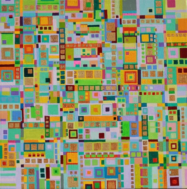 , 'Pastel City,' 2012, InLiquid