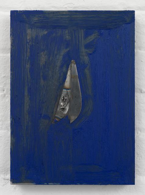 , 'Untitled (Pallet Knife),' 2016, Almine Rech