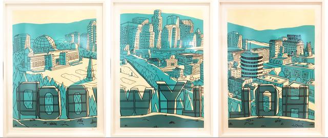 , 'Hollywood Triptych (framed),' , Wallspace