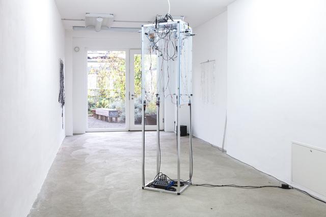 , 'Transparent Tape Machine,' 2016, DAS ESSZIMMER